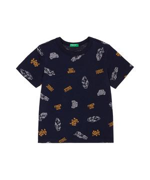 カーレースプリント半袖Tシャツ・カットソー