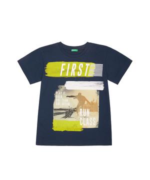 フォトグラフィックプリント半袖Tシャツ・カットソー
