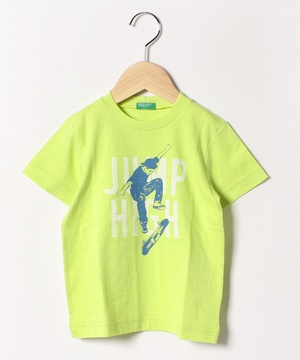 スケータープリント半袖Tシャツ・カットソー
