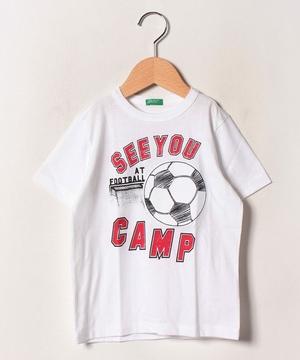 アップリケ半袖Tシャツ・カットソー