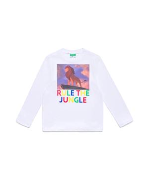 【Disney】コラボ ライオンキングボーイズTシャツ・カットソー(公式オンライン限定)
