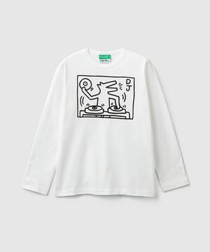 【キース・ヘリングコラボ】長袖Tシャツ・カットソー