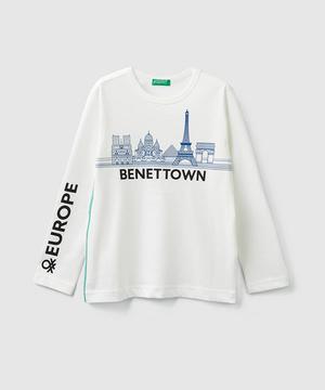 ベネタウンプリントTシャツ・カットソー
