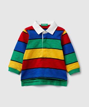 マルチボーダーラガーシャツ