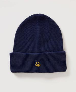 ロゴリブニット帽・ニットキャップ(ユニセックス)