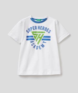 ヒーロープリントTシャツ・カットソー