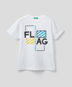 キッズパッチフラッグTシャツ・カットソー