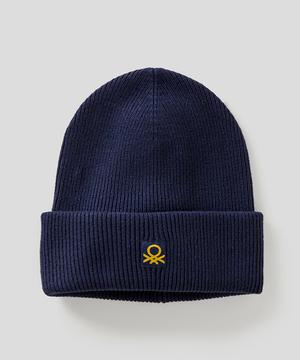 キッズウールミニロゴリブニット帽・ワッチキャップ(ユニセックス)