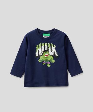 【AVENGERS(アベンジャーズ)コラボ】キッズヒーロープリント長袖Tシャツ・カットソーB