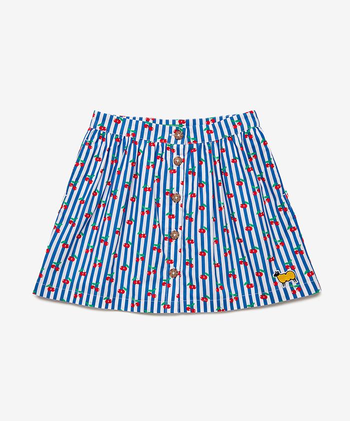 モスリン総柄スカート