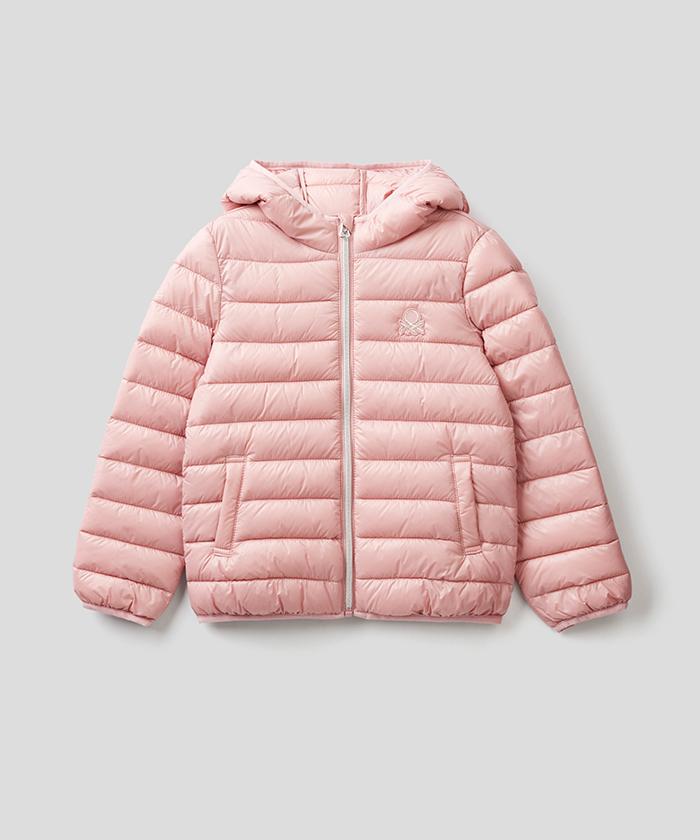 キッズフード付き中綿ジャケット