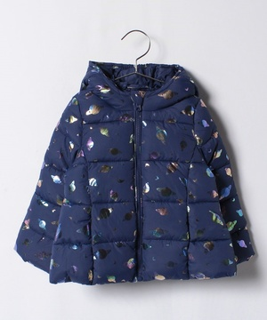 KIDS中綿キラキラフードジャケット