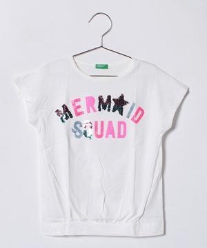 KIDSスパンコールワイドスリーブTシャツ・カットソー