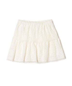 KIDSレース刺繍スカート