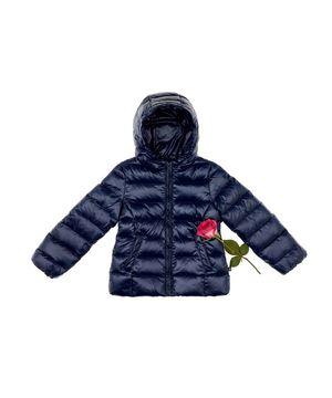 KIDS ダウンベーシックフードジャケット