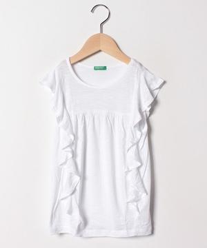 ラッフルフレンチ半袖Tシャツ・カットソー