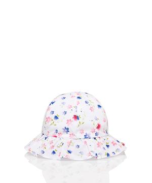 総柄リボンハット・帽子