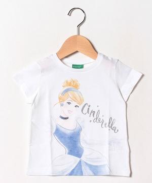 【Disneyコラボ】プリンセスプリント半袖Tシャツ(公式オンライン限定)