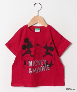 【Disneyコラボ】ディズニーロールアップ半袖Tシャツ(公式オンライン限定)