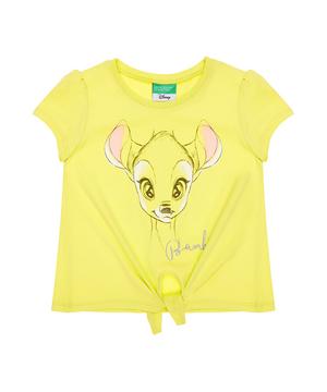 【Disneyコラボ】ディズニーフレンズ裾結び半袖Tシャツ(公式オンライン限定)