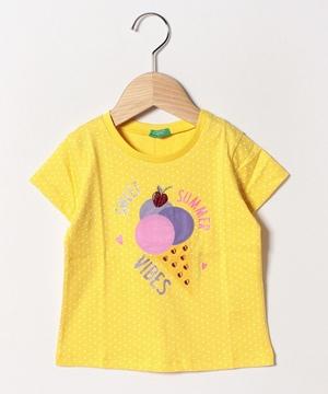 アップリケスイーツ半袖Tシャツ・カットソー2