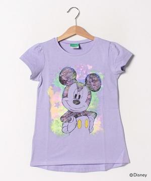 【Disneyコラボ】ディズニースケッチ風プリント半袖Tシャツ(公式オンライン限定)