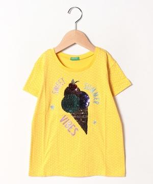 アップリケスイーツ半袖Tシャツ・カットソー1