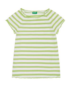 ボーダーラグラン半袖Tシャツ・カットソー