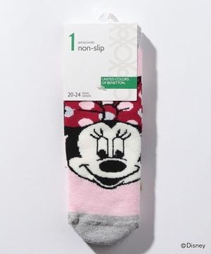 【ディズニーコラボ】ミッキー&ミニーノンスリップ靴下・ソックス(ユニセックス)