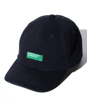 ベネトンボックスロゴキャップ・帽子
