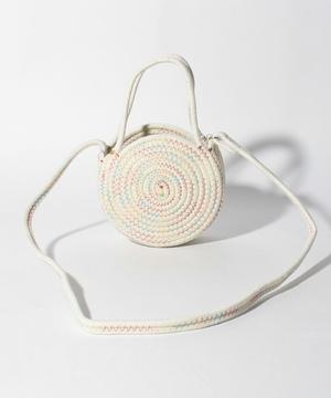 刺繍ロープサークルショルダーバッグ