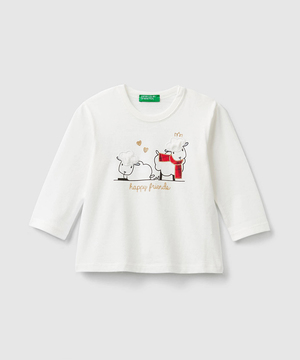 プリントチェックTシャツ・カットソー