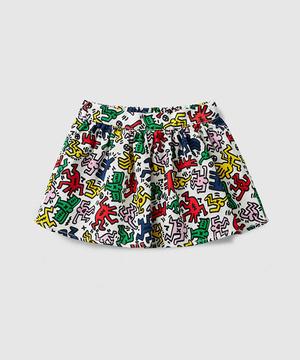 【キース・ヘリングコラボ】総柄スカート