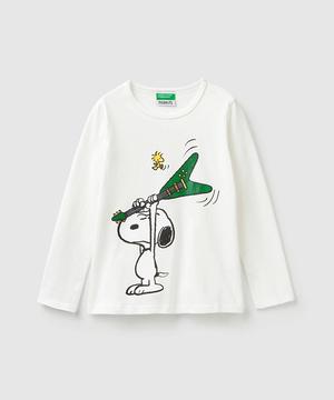 【スヌーピー(SNOOPY)コラボ】ロックバンドTシャツ・カットソー