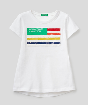 リバーシブルスパンコールTシャツ・カットソー