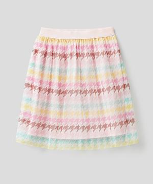 ミドルチュールプリントスカート