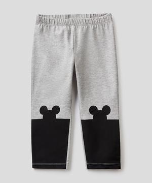 【ディズニー(Disney)コラボ】ミニーマウスシルエットレギンス