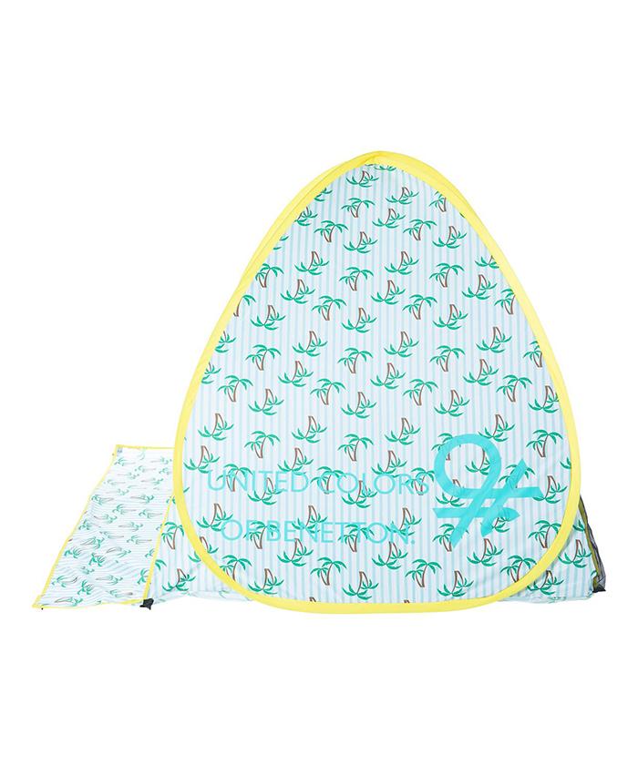 ベネトン折りたたみ式ワンタッチ日除けサンシェード・テント2(1人~2人用/UPF50+)