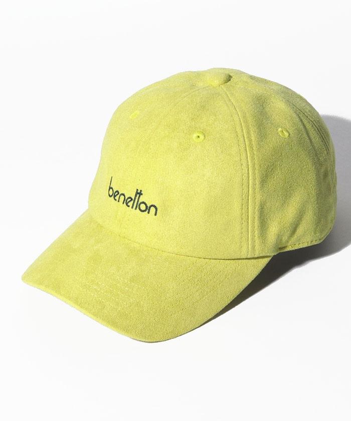 ベネトンロゴフェイクスエードキャップ・帽子