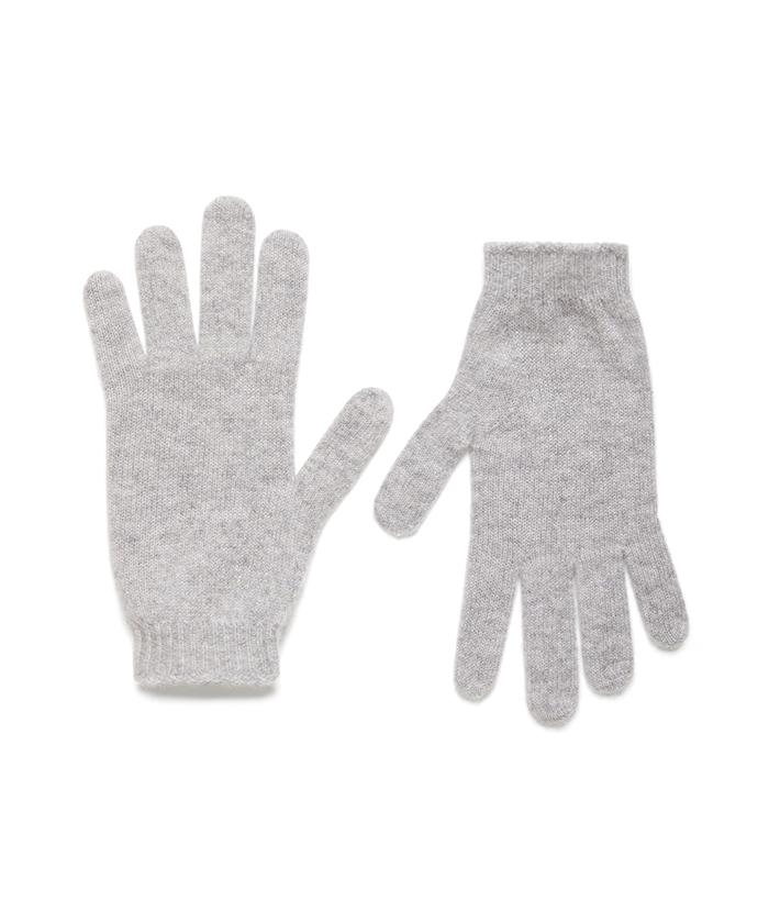 カシミヤニットグローブ・手袋
