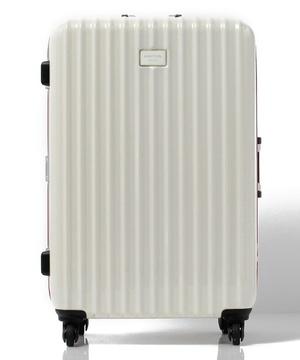 【L】静走ラインキャリーケース・スーツケース容量約80L 静音
