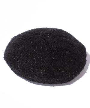 ラメニットベレー帽