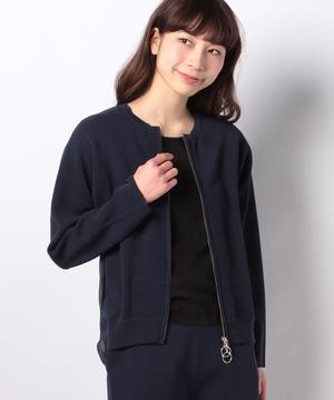 【セットアップ対応商品】ミラノリブニットジャケット