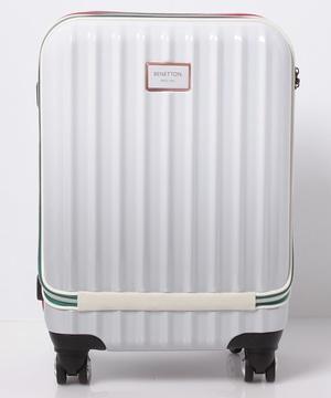 ベネトンフロントオープングラデーションキャリーケース・スーツケース機内持込可容量約33LTSAロック