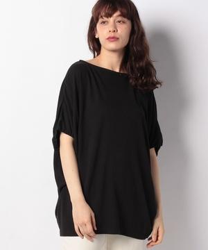 オーバーサイズシャーリング袖Tシャツ・カットソー