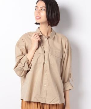胸ポケットロールアップシャツ・ブラウス