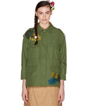 刺繍ミリタリージャケット