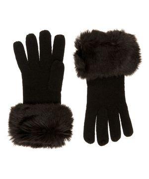 ファー付きグローブ・手袋