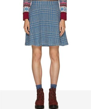 ブリティッシュウールショートスカート