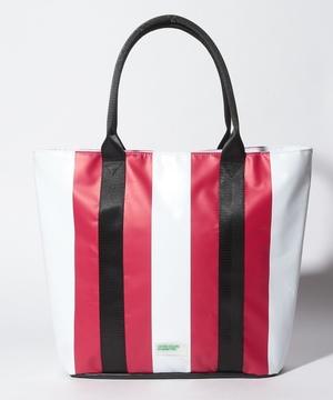 PVC配色トートバッグ